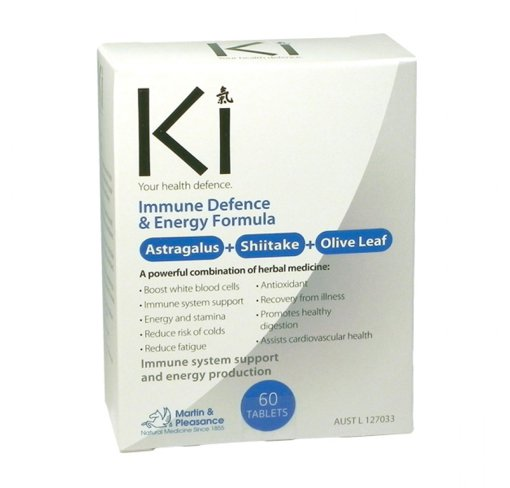 Picture of Ki- Immune Defence & Energy - 60 tablets