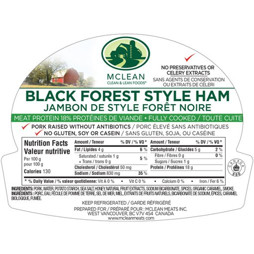 Picture of Black Forest Ham - 150 g