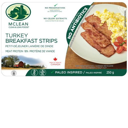 Picture of Turkey Breakfast Strips - 250 g