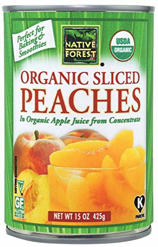 Picture of Organic Sliced Peaches - 425 g