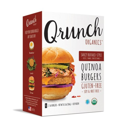 Picture of Quinoa Burgers - Saucy Buffalo Style - 306 g