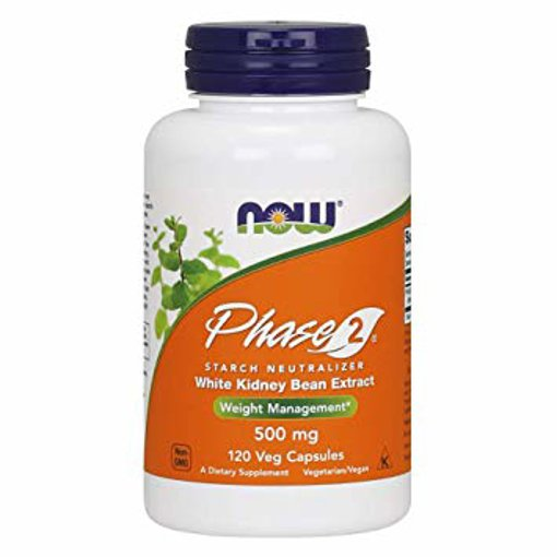 Picture of Phase 2 - 500 mg - 120 veggie capsules