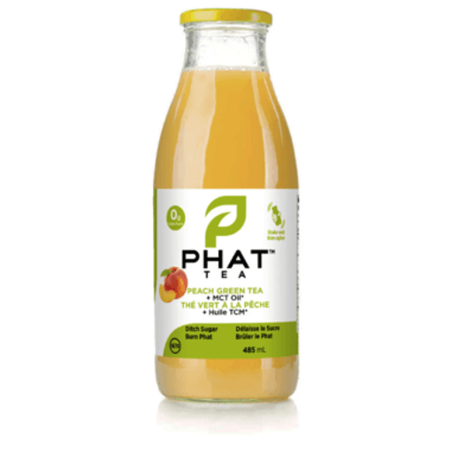 Picture of Peach Green Tea with MCT - 485 ml