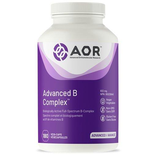 Picture of Advanced B Complex - 602 mg - 180 veggie capsules