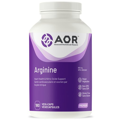 Picture of Arginine - 600 mg - 180 veggie capsules