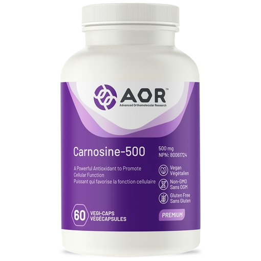 Picture of Carnosine-500 - 500 mg - 60 veggie capsules
