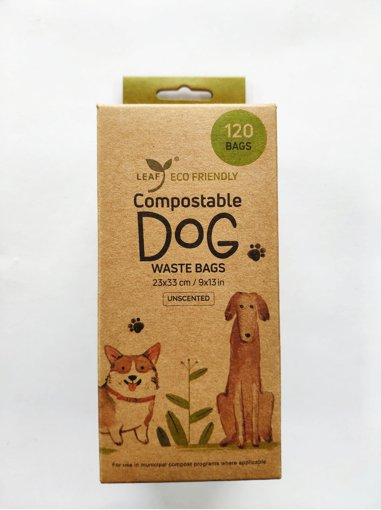 Picture of Compostable Dog Waste Bags - 120 count