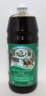 Picture of Organic Maple Syrup Grade A Dark Robust Taste - 1 L