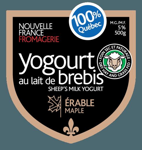 Picture of Sheep Milk Yogurt - Maple 5% - 500 g