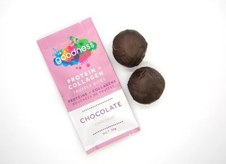 Picture of Protein + Collagen Truffle Bites - Chocolate - 55 g