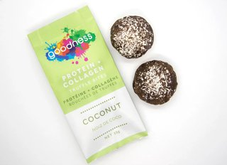 Picture of Protein + Collagen Truffle Bites - Coconut - 55 g