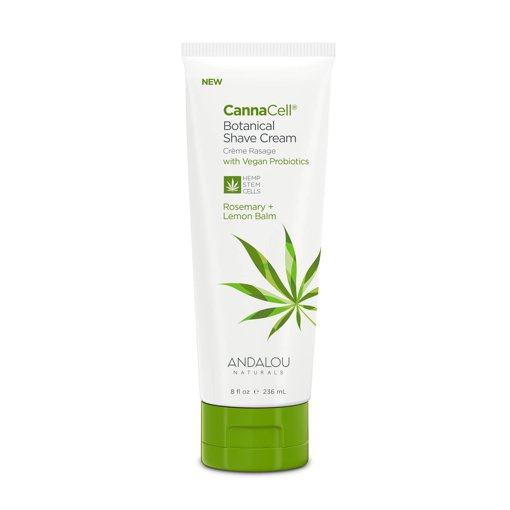 Picture of Shave Cream - CannaCell Rosemary + Lemon Balm - 236 ml