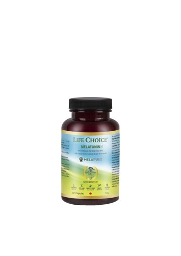Picture of Melatonin - 3 mg - 60 veggie capsules