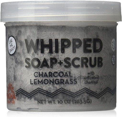 Picture of Whipped Soap - Charcoal Lemongrass - 284 g