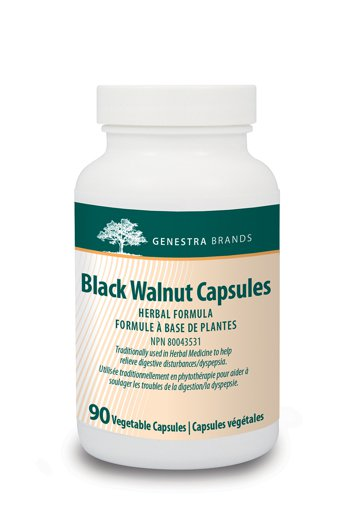 Picture of Black Walnut Capsules - 90 veggie capsules