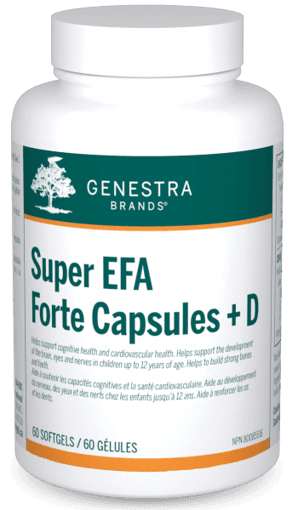 Picture of Super EFA Forte Capsules + D - 60 soft gels
