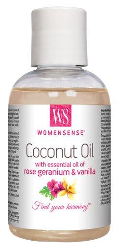 Picture of Coconut Oil - Rose Geranium & Vanilla - 230 ml