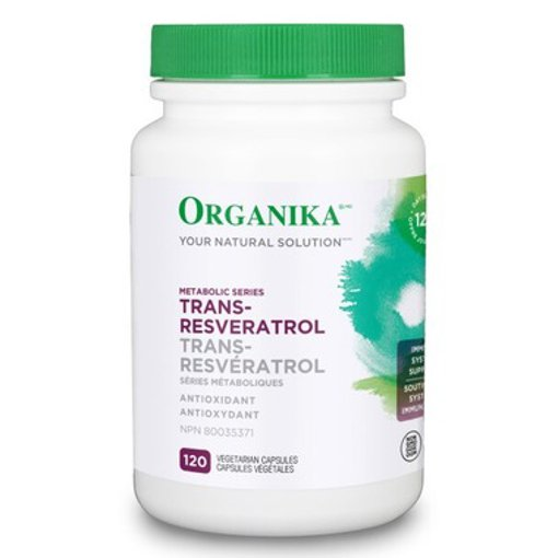 Picture of Trans-Resveratrol - 120 veggie capsules