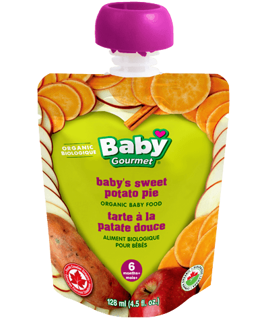 Picture of Organic Baby Food - Baby's Sweet Potato Pie 6+ months - 128 ml