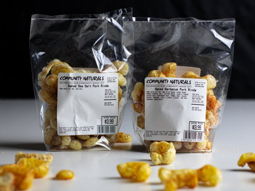 Picture of Baked Pork Rinds - Barbecue - 50 g