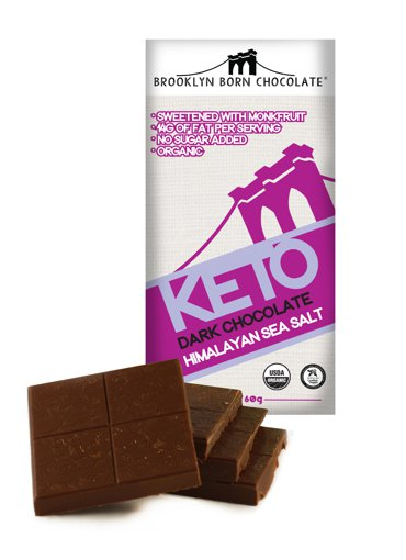 Picture of Keto Dark Chocolate - Himalayan Sea Salt - 60 g