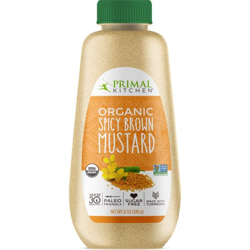 Picture of Organic Spicy Brown Mustard - 340 g