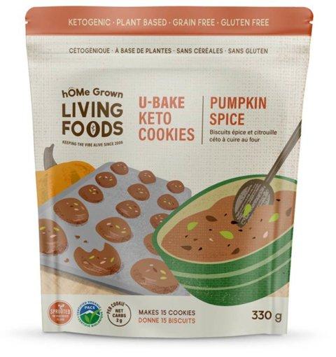 Picture of U-Bake Keto Cookies - Pumpkin Spice - 330 g
