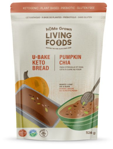Picture of U-Bake Keto Bread - Pumpkin Chia - 526 g