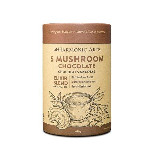 Picture of Elixir Blend - 5 Mushroom Chocolate - 480 g