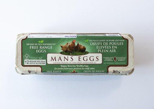 Picture of Eggs - Free Range - Medium - 12 count