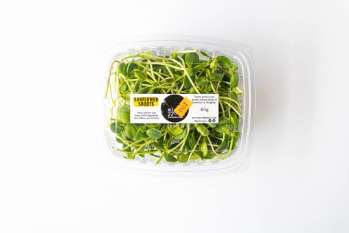 Picture of Sprouts - Sunflower Shoots - Microgreeens -  80 g