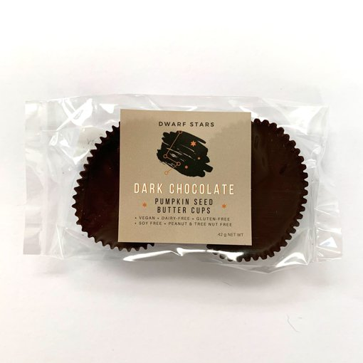 Picture of Pumpkin Seed Butter Cups - Dark Chocolate - 42 g