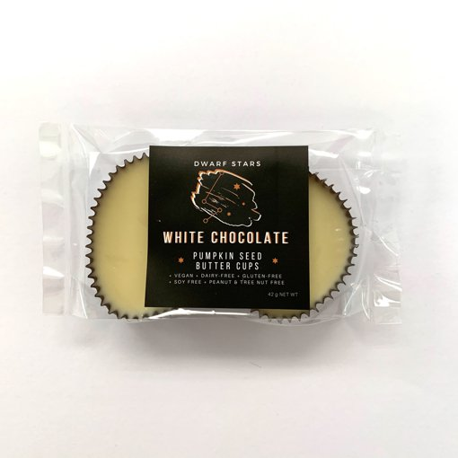 Picture of Pumpkin Seed Butter Cups - White Chocolate - 42 g
