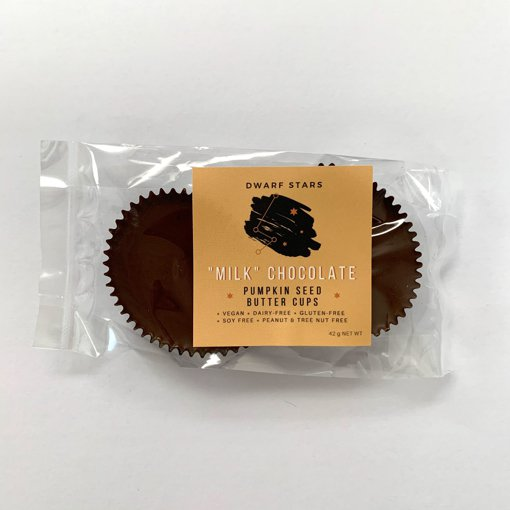 Picture of Pumpkin Seed Butter Cups - Milk Chocolate - 42 g