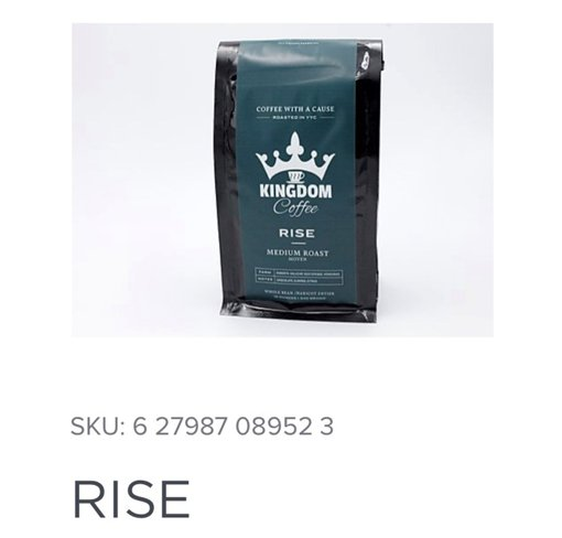 Picture of Coffee - Rise - Medium Roast - 340 g