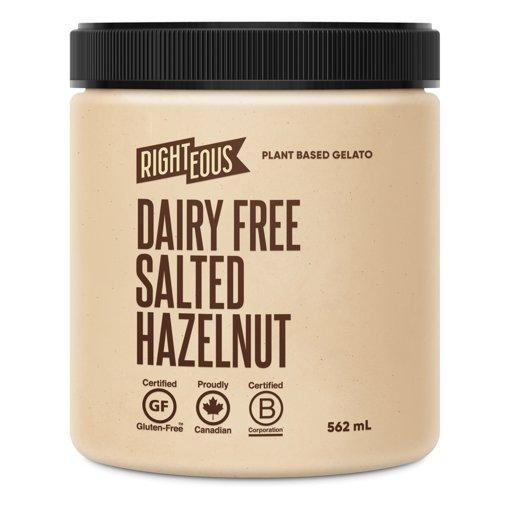 Picture of Gelato - Salted Hazelnut - Non Dairy - 562 ml