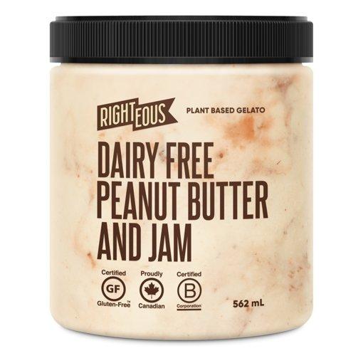 Picture of Gelato - Peanut Butter - Jam - Non Dairy - 562 ml