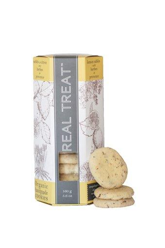 Picture of Cookies - Lemon Sables, Herbes de Provence - 105 g