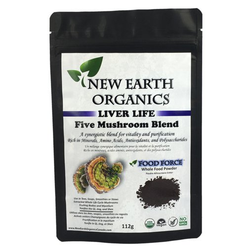 Picture of Liver Life 5 Mushroom Blend - 112 g