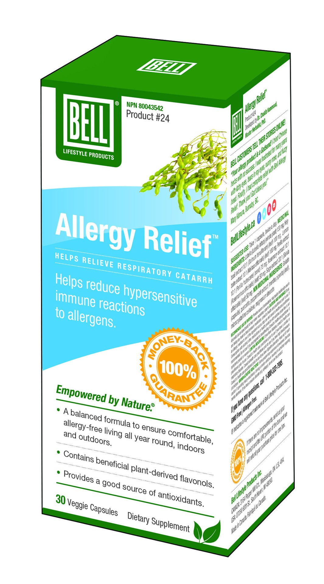 Picture of Allergy Relief - 30 capsules
