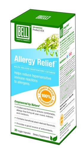 Picture of #24 Allergy Relief - 30 capsules