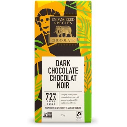 Picture of Chocolate Bar - Dark Chocolate - 72 % - 85 g