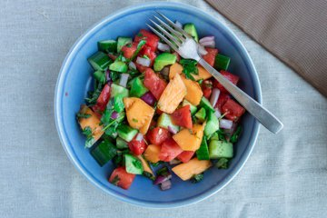 Picture of Grilled Melon Summer Salad