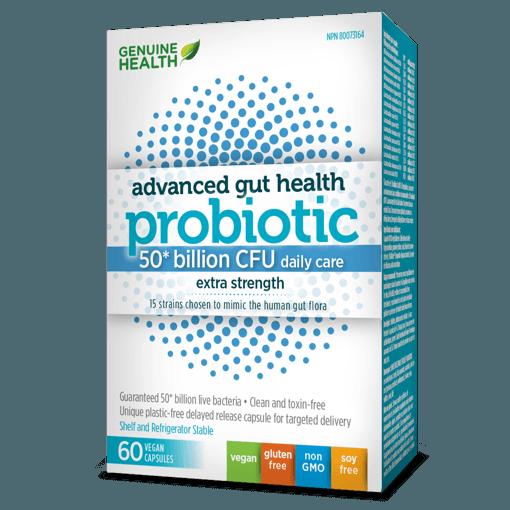 Picture of Advanced Gut Health Probiotic - 50 Billion - 60 capsules
